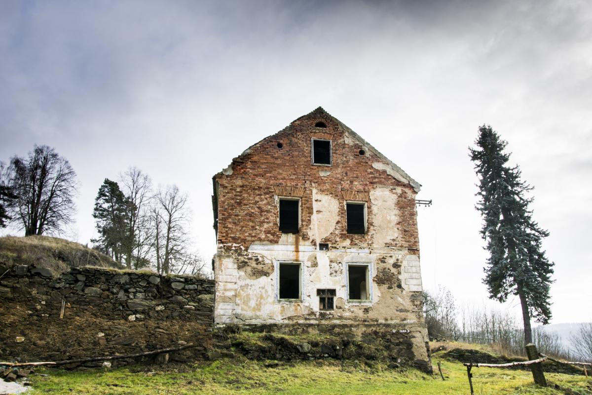 Ruiny poutního hostince