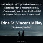 Edna St. Vincent Millay - Láska nepostačí + Umístím chaos do čtrnácti řad
