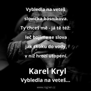Karel Kryl - Déšť padá z oblohy... + Lehounce... + Vybledla na veteš... + Prý z Máchy kradu...