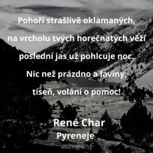 René Char - Pyreneje